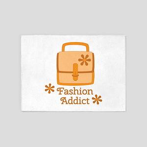 Fashion Addict 5'x7'Area Rug