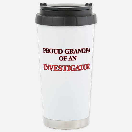 Proud Grandpa of a Inve Stainless Steel Travel Mug