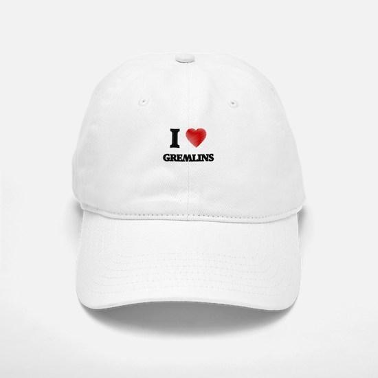 I love Gremlins Baseball Baseball Cap