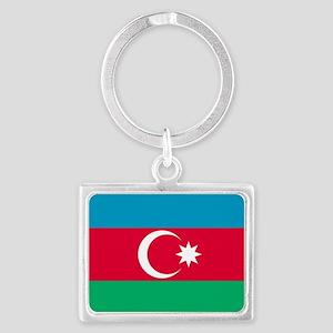 Azerbaijan Flag Keychains