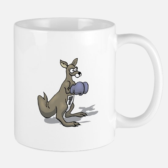 Kangaroo Boxing Mugs
