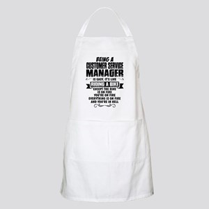 Being A Customer Service Manager... Apron