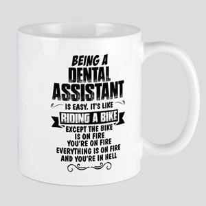 Being A Dental Assistant.... Mugs