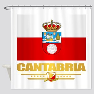 Cantabria Shower Curtain