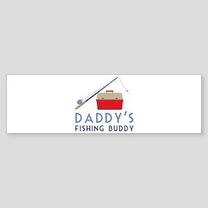 Fishing Buddy Bumper Sticker