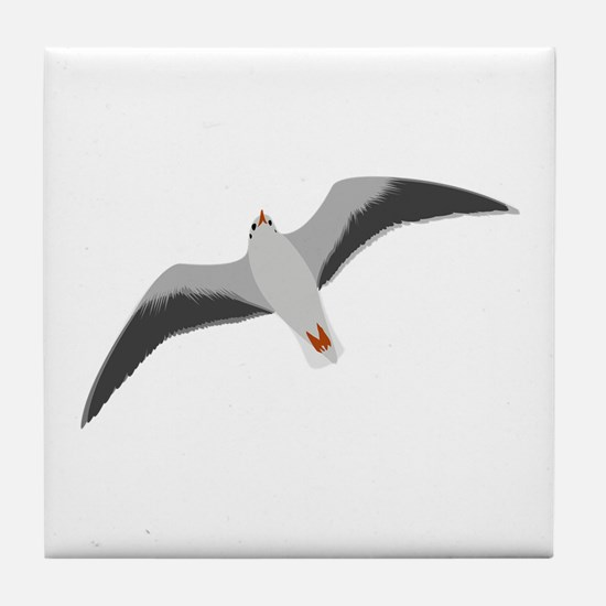 Sea gull seagull Tile Coaster