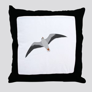 Sea gull seagull Throw Pillow