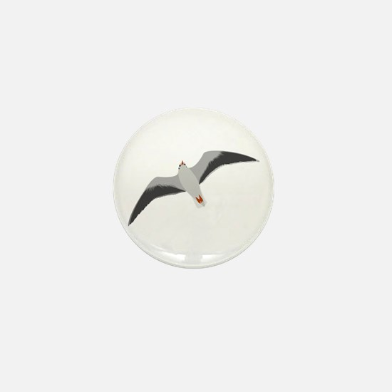 Sea gull seagull Mini Button
