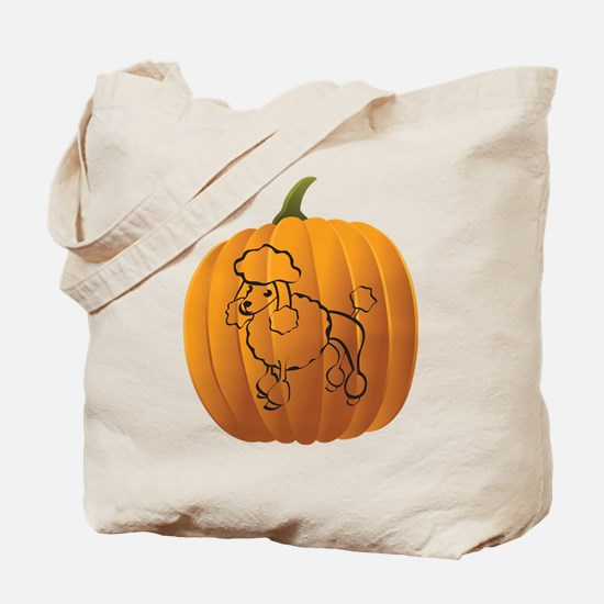 Poodle Trick-or-Treat Bag