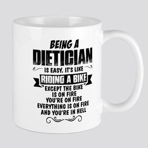Being A Dietician... Mugs