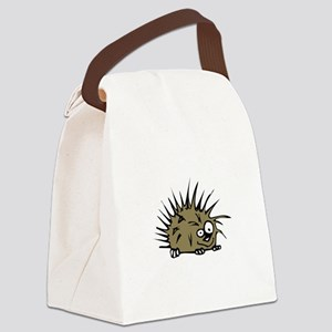 Porcupine Nutty Canvas Lunch Bag