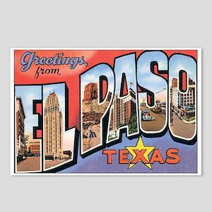 El Paso TX Postcard Postcards (Package of 8)