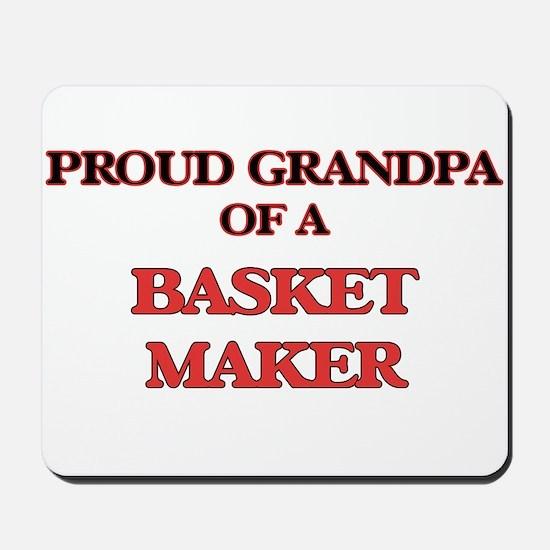 Proud Grandpa of a Basket Maker Mousepad