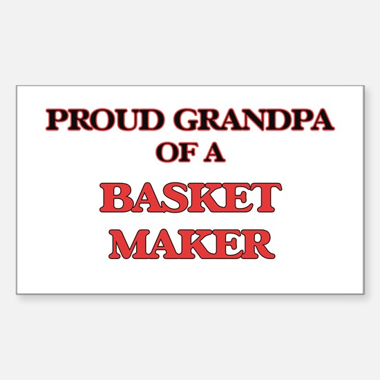 Proud Grandpa of a Basket Maker Decal