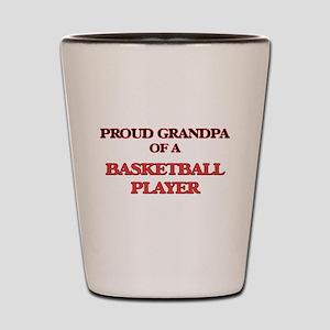 282d5fca7d2b Proud Grandpa of a Basketball Player Shot Glass
