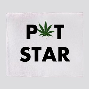 POT STAR Throw Blanket