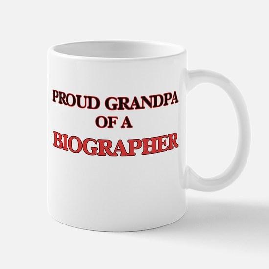 Proud Grandpa of a Biographer Mugs