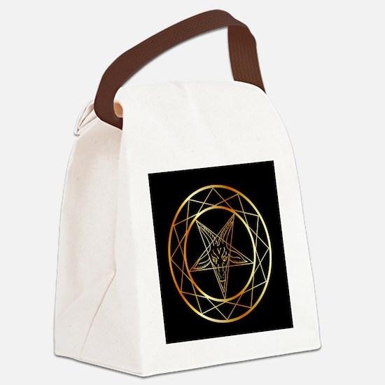 Satanism Canvas Lunch Bag