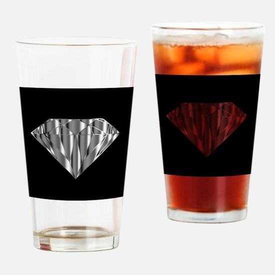 Funny Diamond Drinking Glass
