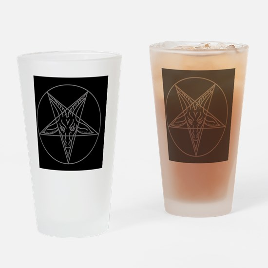 Unique Satanism Drinking Glass
