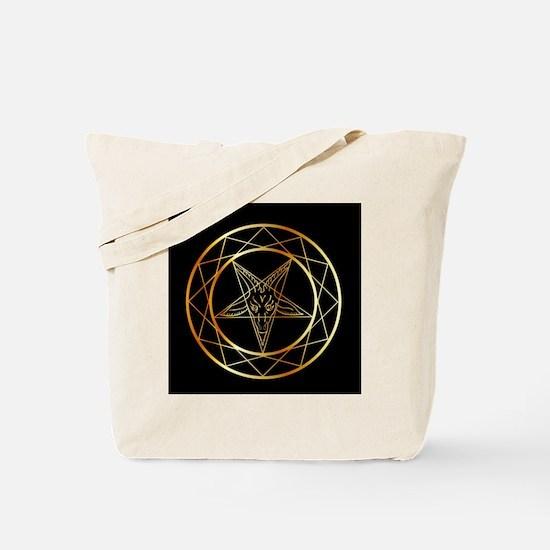 Cool Pentagram Tote Bag
