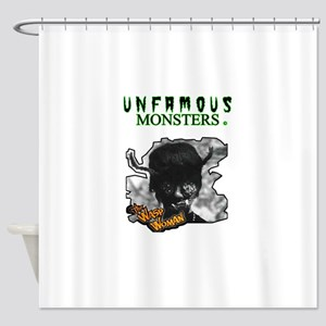 Unfamous Monsters -The Wasp Woman Shower Curtain