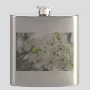 Speckled Sakura Flask