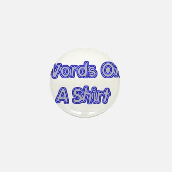 WORDS Mini Button