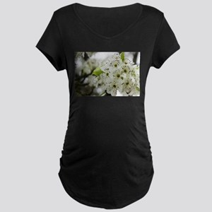 Speckled Sakura Maternity T-Shirt