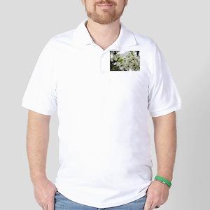 Speckled Sakura Golf Shirt