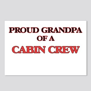 Proud Grandpa of a Cabin Postcards (Package of 8)