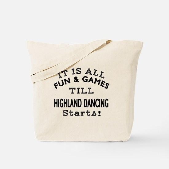Highland Dance Designs Tote Bag