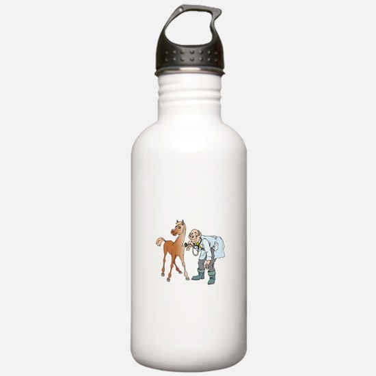 Veterinarian doctor wi Water Bottle