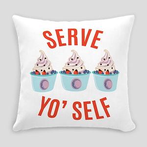 Serve Yoself Everyday Pillow