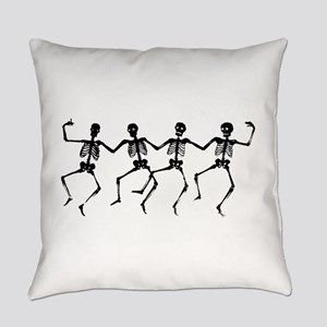 Dancing Skeletons Everyday Pillow