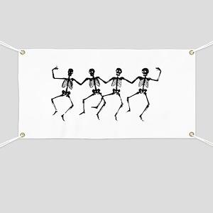 Dancing Skeletons Banner