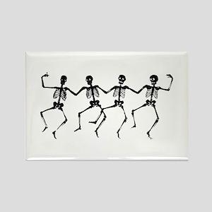 Dancing Skeletons Magnets