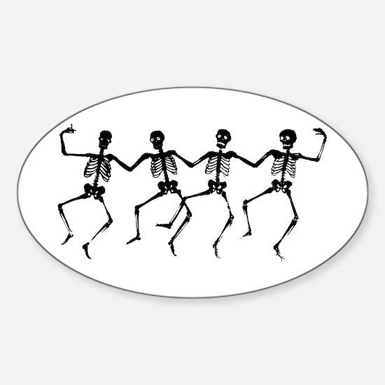 Dancing Skeletons Decal