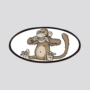 Monkey Making Face Patch