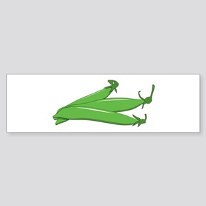 Green bean Bumper Sticker