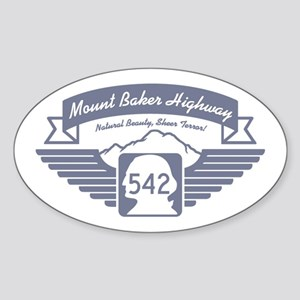 Mt. Baker Highway Oval Sticker