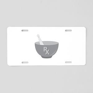 Pharmacy Bowl Aluminum License Plate