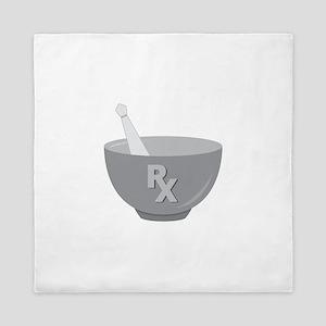 Pharmacy Bowl Queen Duvet