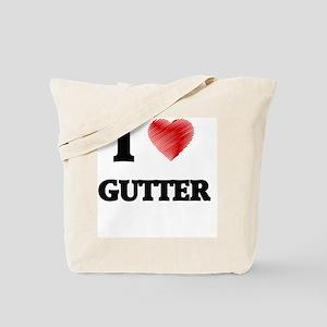 I love Gutter Tote Bag