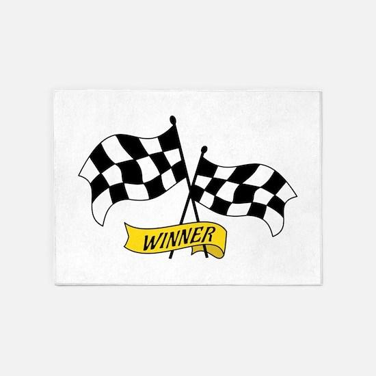 Winner Flags 5'x7'Area Rug
