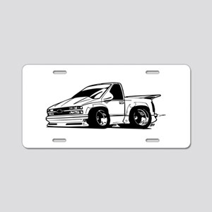 Chevy SSR Aluminum License Plate