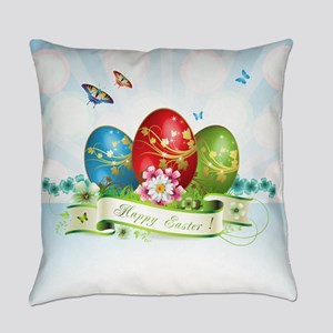 Happy Easter Everyday Pillow