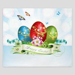 Happy Easter King Duvet