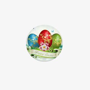 Happy Easter Mini Button