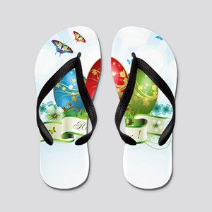 Happy Easter Flip Flops